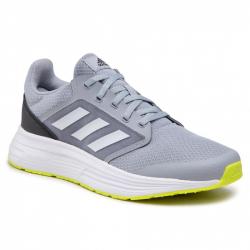 Pánska športová obuv (tréningová) ADIDAS-Galaxy 5 halfsil/ftwwht/cblack (EX)