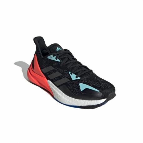 Pánská běžecká obuv ADIDAS-X9000L3 core black / core black / solar red (EX)
