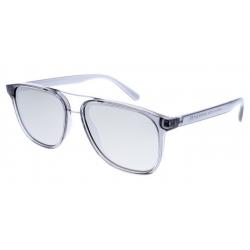 Slnečné okuliare H.I.S. POLARIZED-HPS98114-3, grey, smoke with silver flash POL, 55-16-145