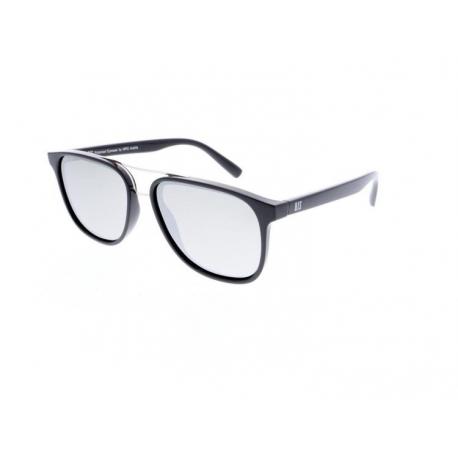 Slnečné okuliare H.I.S. POLARIZED-HPS98114-1, black, smoke with silver flash POL, 55-16-145