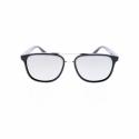 Slnečné okuliare H.I.S. POLARIZED-HPS98114-1, black, smoke with silver flash POL, 55-16-145 -