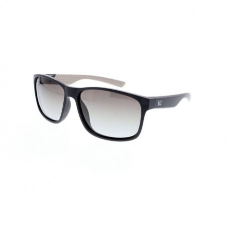 Slnečné okuliare H.I.S. POLARIZED-HPS98112-2, black, green gradient POL, 60-15-141