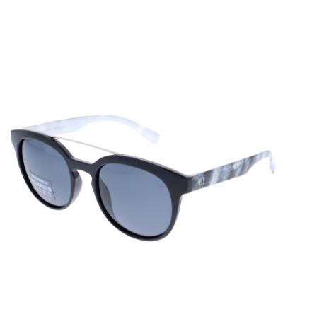 Slnečné okuliare H.I.S. POLARIZED-HP78128-1, black, smoke POL, 51-19-141