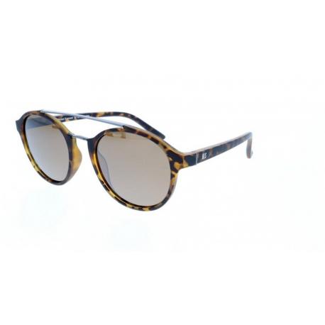 Slnečné okuliare H.I.S. POLARIZED-HPS98108-2, havanna, brown with silver flash POL, 52-21-144