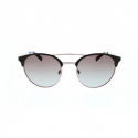 Slnečné okuliare H.I.S. POLARIZED-HPS94108-2, brown, brown gradient with silver flash POL -