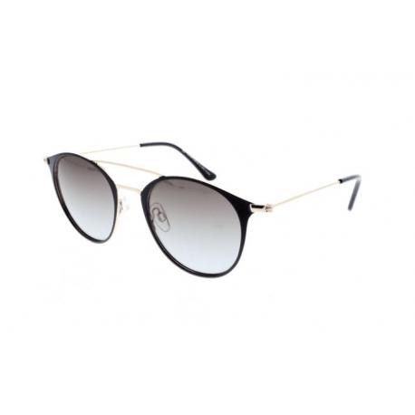 Slnečné okuliare H.I.S. POLARIZED-HPS94107-3, black-gold, green gradient with silver flash POL