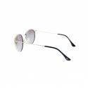 Slnečné okuliare H.I.S. POLARIZED-HPS94106-2, black, brown gradient with silver flash POL -