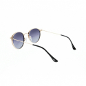 Slnečné okuliare H.I.S. POLARIZED-HPS94106-1, brown, brown-pink gradient white mirror POL -