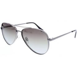 Slnečné okuliare H.I.S. POLARIZED-HPS94105-3, gun, green gradient with silver flash POL