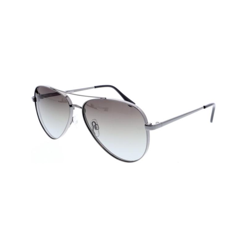 Slnečné okuliare H.I.S. POLARIZED-HPS94105-3, gun, green gradient with silver flash POL -