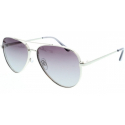 Slnečné okuliare H.I.S. POLARIZED-HPS94105-2, silver, smoke gradient/ silver flash POL -