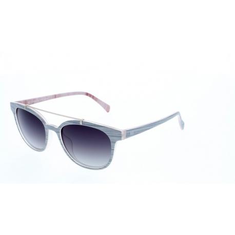 Slnečné okuliare H.I.S. POLARIZED-HP78103-1, light grey, green gradient POL, 51-18-142