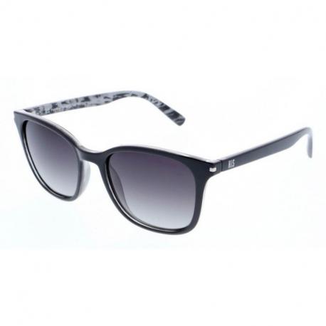 Slnečné okuliare H.I.S. POLARIZED-HPS88107-3, black, smoke gradient POL, 52-18-145