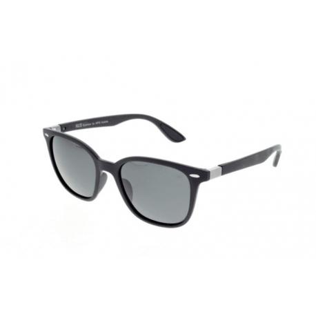 Slnečné okuliare H.I.S. POLARIZED-HPS08117-3, dark blue, smoke POL, 52-21-145