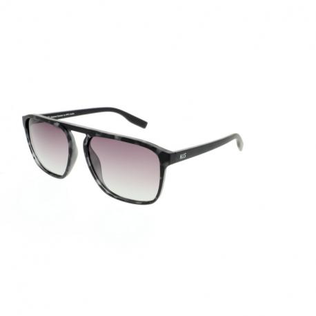 Slnečné okuliare H.I.S. POLARIZED-HPS08114-2, demi grey, smoke gradient POL, 58-17-140