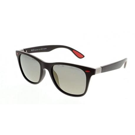 Slnečné okuliare H.I.S. POLARIZED-HPS08115-1, dark blue, smoke with blue flash POL, 52-21-143