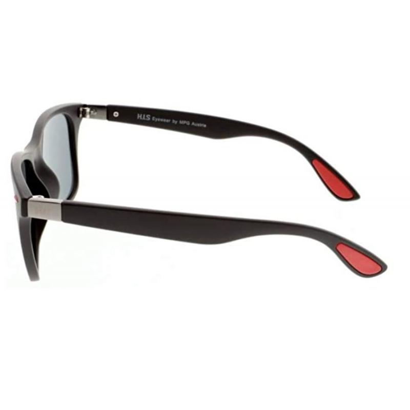 Slnečné okuliare H.I.S. POLARIZED-HPS08115-1, dark blue, smoke with blue flash POL, 52-21-143 -