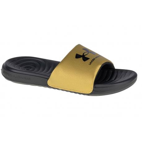 Dámska obuv k bazénu (plážová obuv) UNDER ARMOUR-UA W Ansa Fixed Slides black