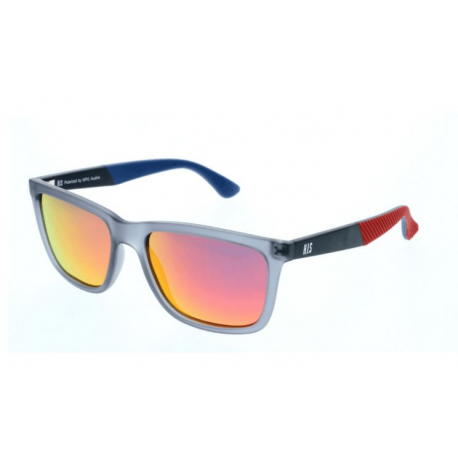 Slnečné okuliare H.I.S. POLARIZED-HPS88119-1, grey, smoke with red mirror POL, 54-17-144