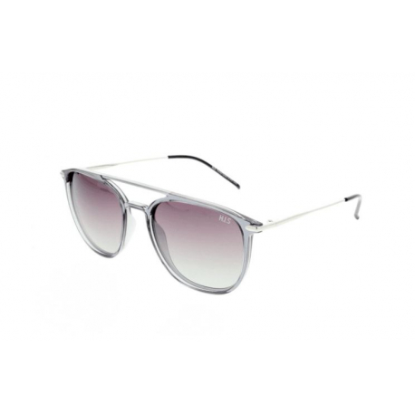 Slnečné okuliare H.I.S. POLARIZED-HPS08104-4, transparent grey, smoke gradient POL, 53-19-140