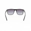 Slnečné okuliare H.I.S. POLARIZED-HPS08111-3, black, smoke gradient POL, 57-16-144 -