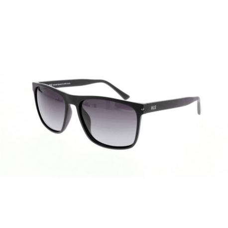 Slnečné okuliare H.I.S. POLARIZED-HPS08111-3, black, smoke gradient POL, 57-16-144
