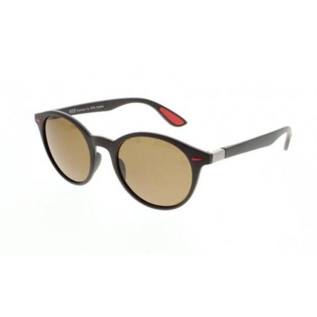Slnečné okuliare H.I.S. POLARIZED-HPS08116-2, dark brown, brown POL, 51-21-148