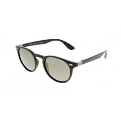 Slnečné okuliare H.I.S. POLARIZED-HPS08118-3, black, green with silver flash POL, 48-21-144