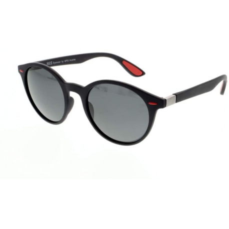 Slnečné okuliare H.I.S. POLARIZED-HPS08116-3, black, smoke POL, 51-21-148