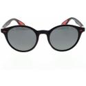 Slnečné okuliare H.I.S. POLARIZED-HPS08116-3, black, smoke POL, 51-21-148 -