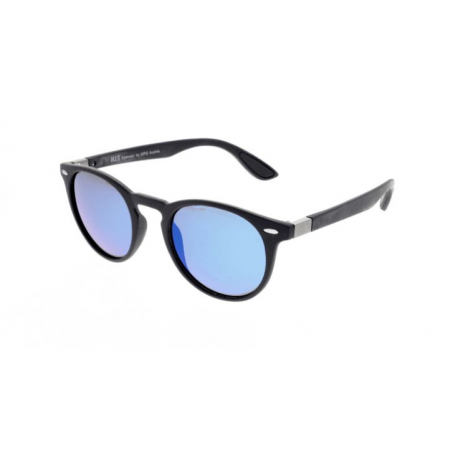 Slnečné okuliare H.I.S. POLARIZED-HPS08118-2, dark blue, smoke with blue flash POL, 48-21-144