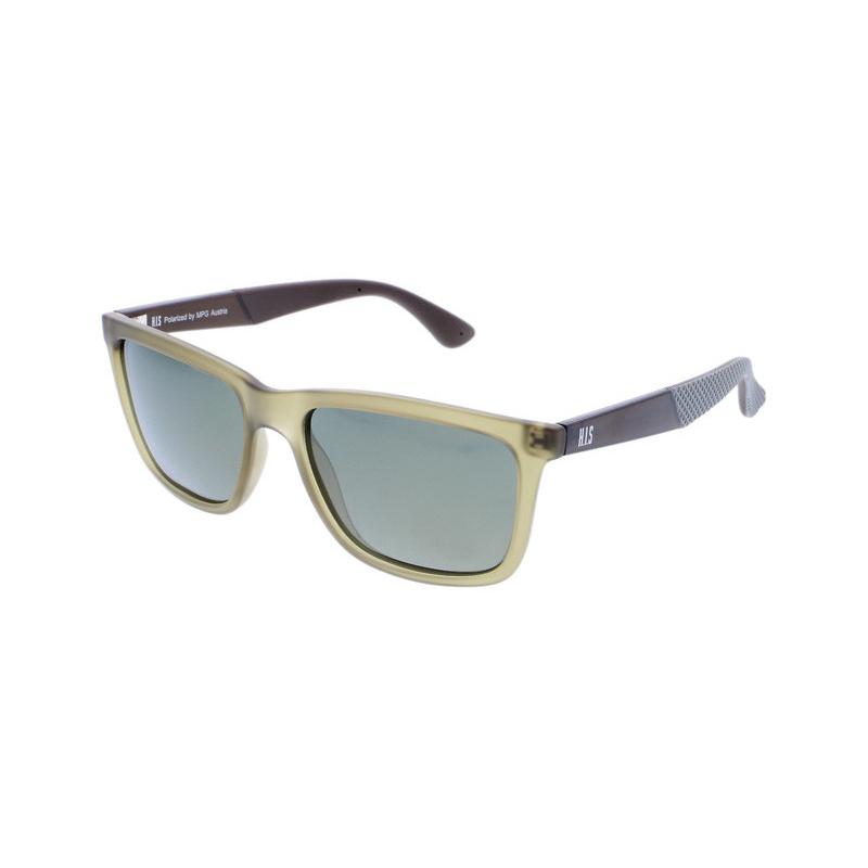 Slnečné okuliare H.I.S. POLARIZED-HPS88119-3, green, green with gold mirror POL, 54-17-144 -