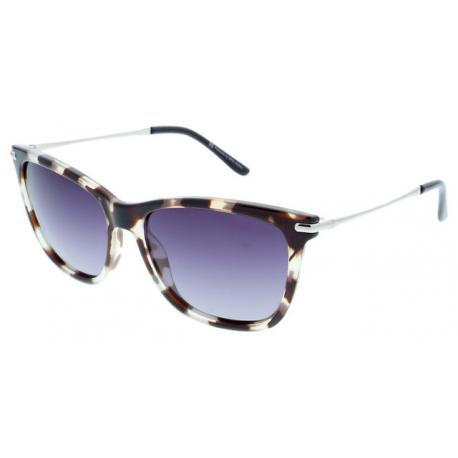 Slnečné okuliare H.I.S. POLARIZED-HPS88104-4, transparent clear, smoke POL, 56-16-140