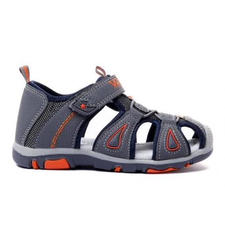 Detské sandále WOJTYLKO-Carines grey