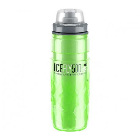 Cyklistická fľaša ELITE-ICE FLY zelená 500ml