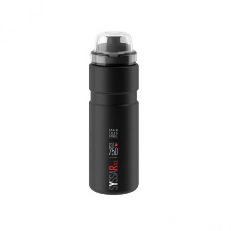 Cyklistická láhev ELITE-SYSSA RACE černá matná 750 ml