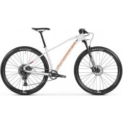 Horský bicykel MONDRAKER-Chrono, white/orange/blue, 2021