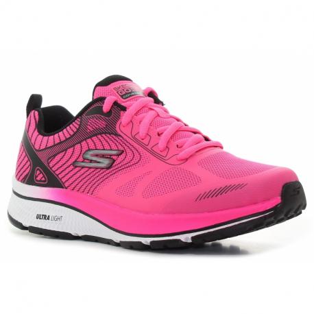 Dámská sportovní obuv (tréninková) SKECHERS-Go Run Consistent Fleet Rush hot pink / black