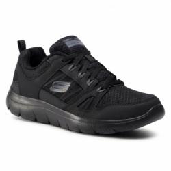 Pánska rekreačná obuv SKECHERS-Summits New World black