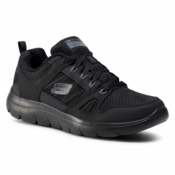 Pánska rekreačná obuv SKECHERS-Summits New World black (EX)