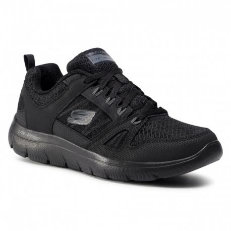 Pánská rekreační obuv SKECHERS-Summits New World black (EX)