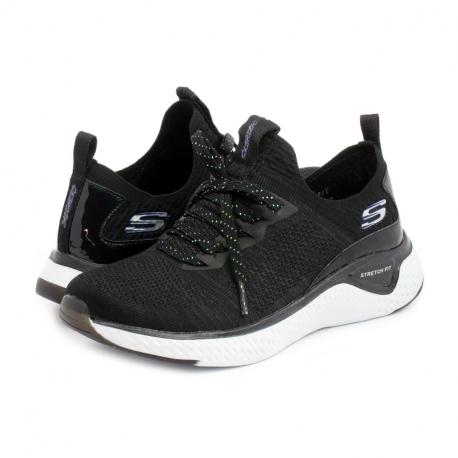 Dámská rekreační obuv SKECHERS-Solar Fuse Gravity Experience black
