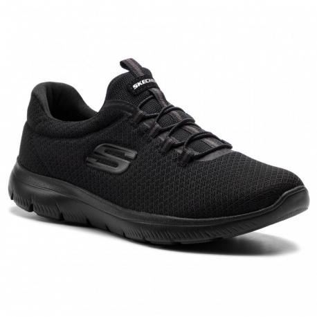 Dámská rekreační obuv SKECHERS-Summits black