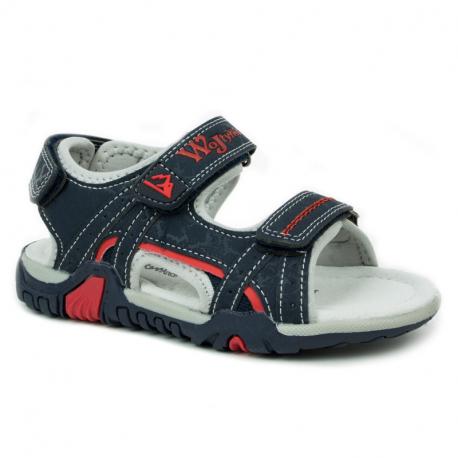 Detské sandále WOJTYLKO-Drym blue