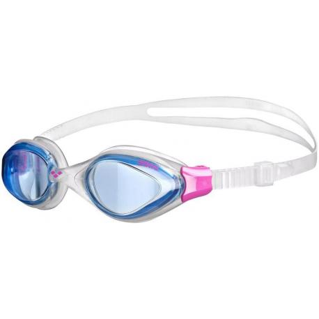 Dámske plavecké okuliare ARENA-Fluid Woman BLUE-CLEAR-FUCHSIA