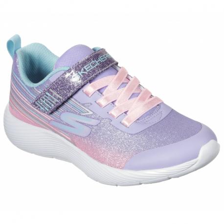 Detská rekreačná obuv SKECHERS-Dyna Lite Shimmer Streaks lavander/multi