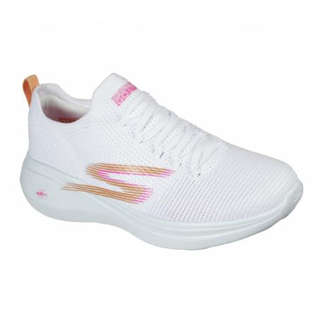 Dámská sportovní obuv (tréninková) SKECHERS-Go Run Fast Brisk Day white / pink