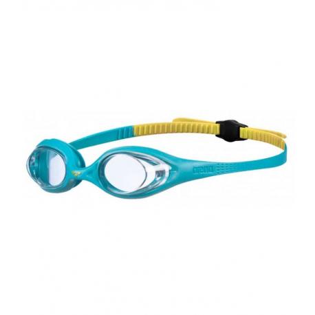 Juniorské plavecké brýle ARENA-Spider Jr CLEAR-MINT-YELLOW