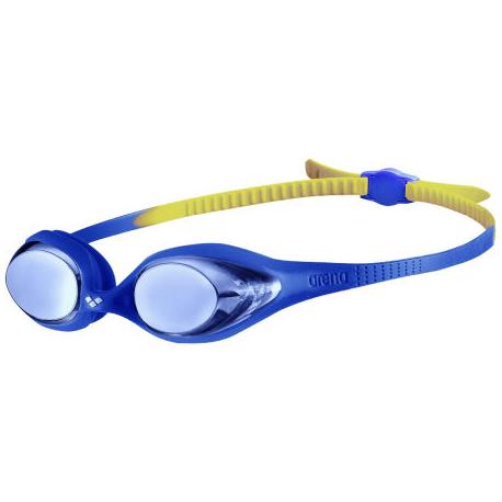 Juniorské plavecké brýle ARENA-Spider Jr Mirror BLUE-BLUE-YELLOW