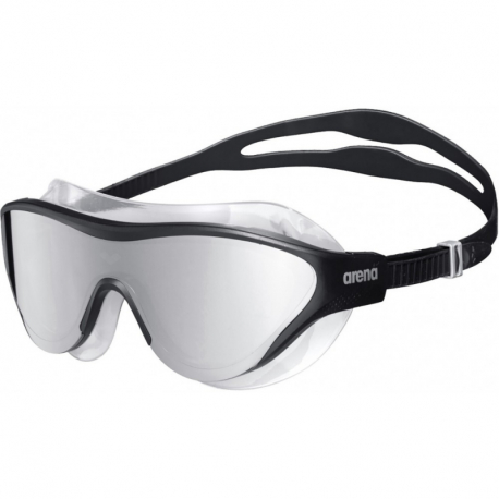 Plavecké brýle ARENA-THE ONE MASK MIRROR SILVER-BLACK-BLACK